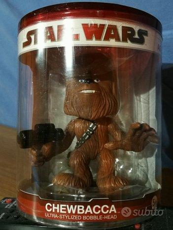 Chewbacca Star Wars Funko Booble Head NUOVO