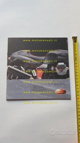 MOTO GUZZI V11 Sport Scura 2002 depliant originale