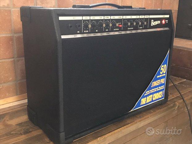Amplificatore chitarra Benson Stinger Pro 50W eq