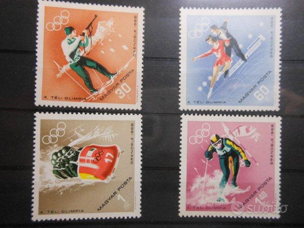 Ungheria serie completa nuova anno 1968 . 1,00