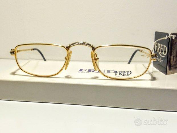 Fred occhiali force 10 vintage inusati