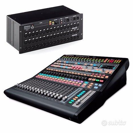 Mixer digitale Presonus 32 ch (CS18AI & RML32AI)