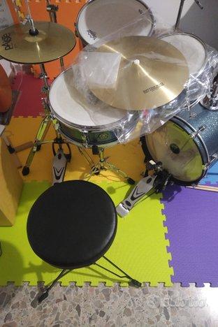 Batteria acustica Ludwig Breakbeats + accessori