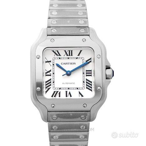 [NUOVO] Cartier Santos de Cartier WSSA0029 Silver
