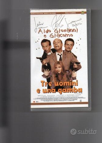 Tre uomini e una gamba, VHS originale