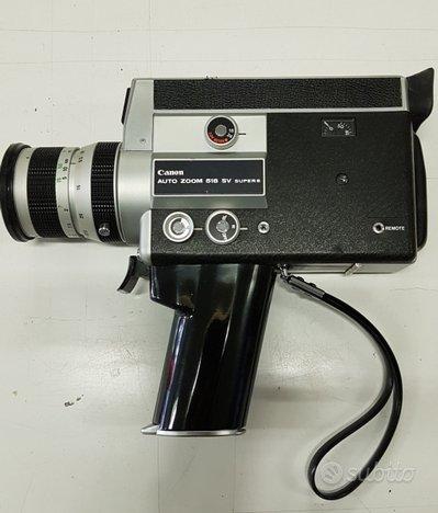 Cinepresa Canon zoom 518 S 8