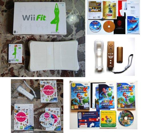 Giochi Nintendo Wii ORIGINALI ed accessori