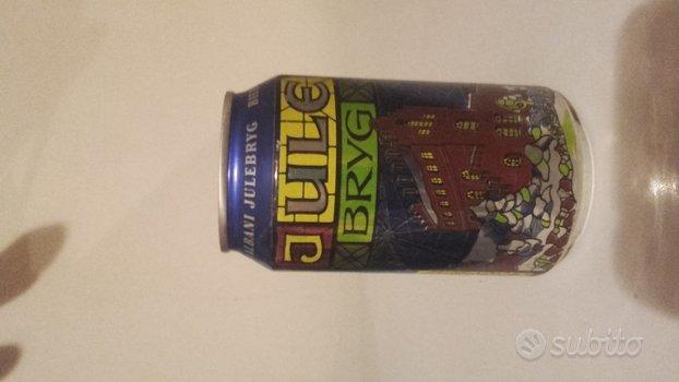 Lattina di birra vintage