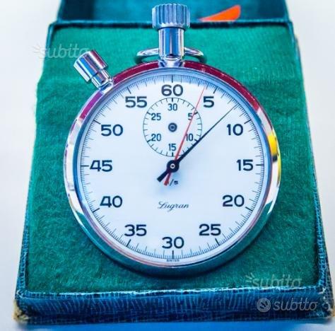 Cronografo lygram anni 70 da da taschino meccanico