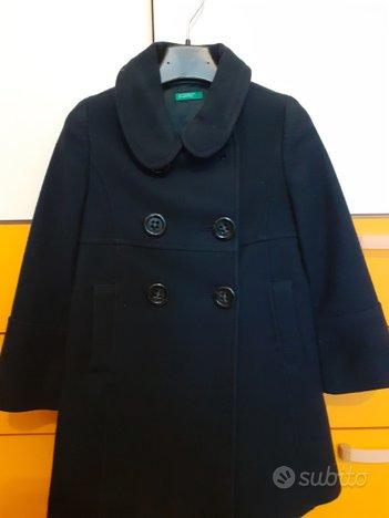 Cappotto blu benetton