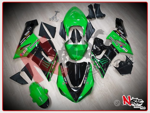 Kit Carena ABS Kawasaki ZX6R 05/06 Replica Monster