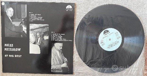 LP originale: Mezz Mezzrow - At His Best