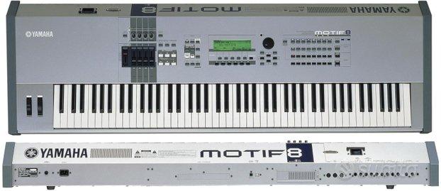 Yamaha motif es 8 nuova + accessori