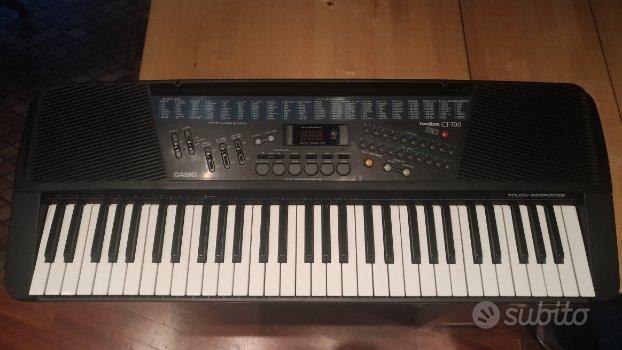 Tastiera Casio Tone Bank CT-700 Touch Response