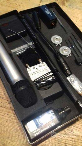 Sennheiser Impianto Radio Microfoni Completo