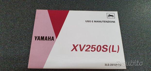 Uso e manutenzione manuale yamaha xv250s l