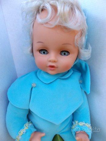 Bambola vintage anni '70 Sebino Mariolina