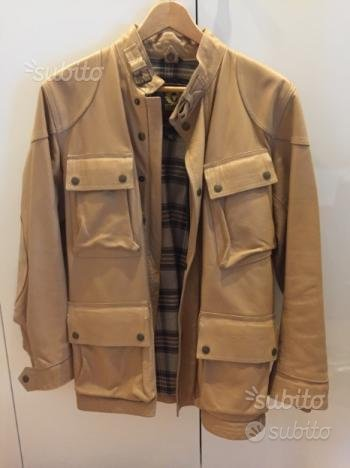 Giacca Belstaff Panther pelle taglia 44
