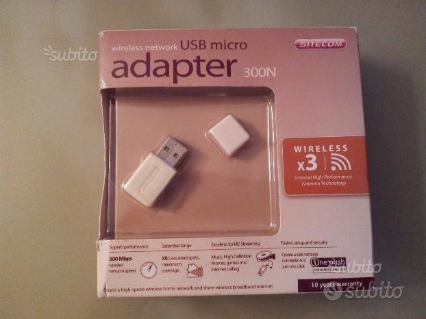 Chiavetta usb Wi-Fi 300N - Sitecom