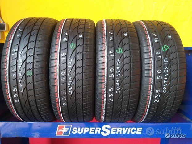 4 gomme 235 50 18 continental al 78%