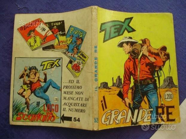 TEX numero 53 PRIMA EDIZIONE 200 lire del 1965