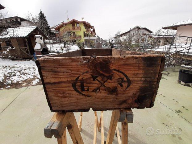 Cassetta in legno imballaggio