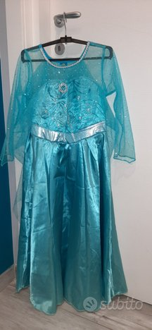 Frozen vestito elsa e sparaghiaccio