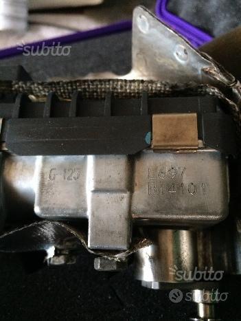 Attuatore turbo bmw