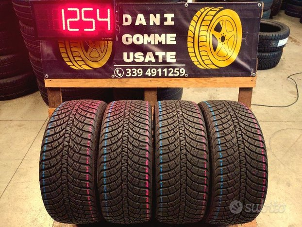 4 Gomme Usate 225 40 18 INVERNALI 90% KUMHO