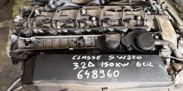 MERCEDES CLASSE S W220 3.2D MOTORE 648960