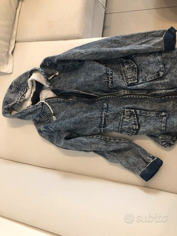 Giubbotto jeans giacca