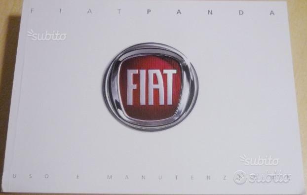 FCA Fiat Panda,libretto uso manutenzione