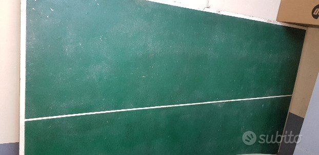 Tavolo ping pong artigianale