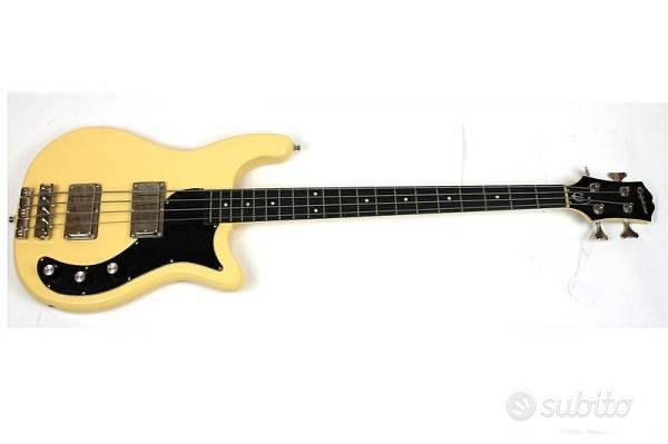Epiphone embassy pro bass antique ivory - usato