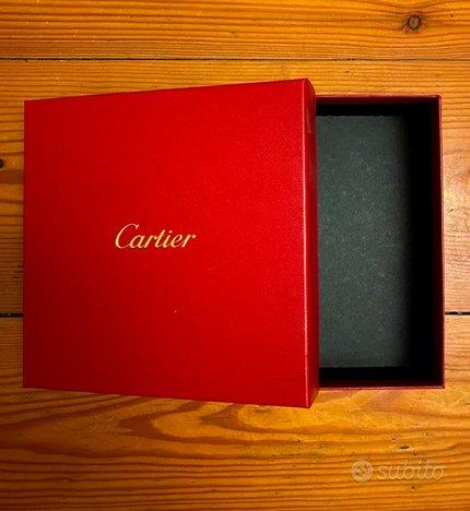 Cartier scatole confezione varie misure
