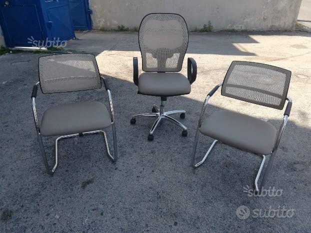 Tris sedie ufficio GLO - Arredamento e Casalinghi In ...