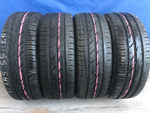 185 55 15 continental gomme usate estive