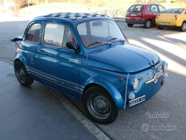 """Fiat 500 abarth 695 """"REPLICA"""""""