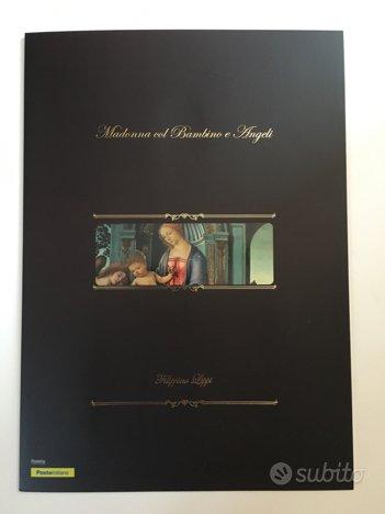 2017 Litografia Madonna col Bambino e Angeli