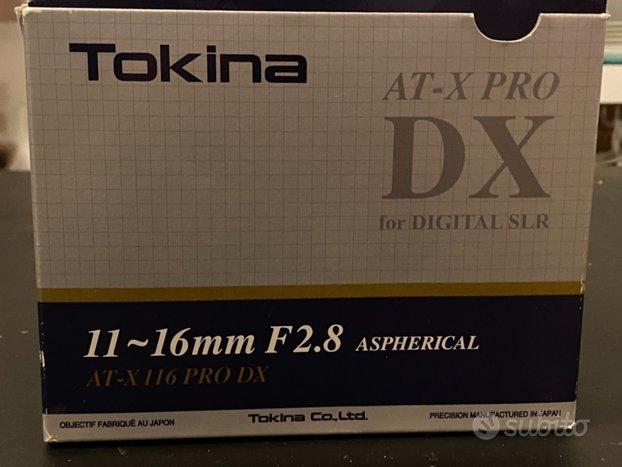 Tokina 11-16mm f2.8 AT-X PRO DX NIKON