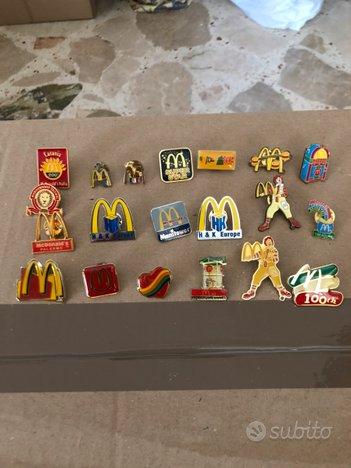 20 pins Mc Donald's