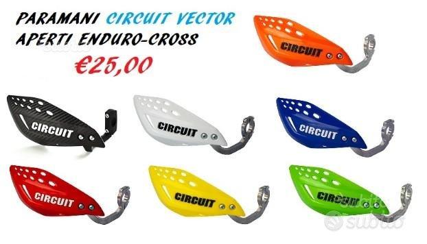 Paramani aperti cross enduro circuit vector