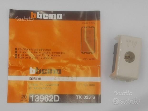 Presa TV TEKNE BTICINO 13962D