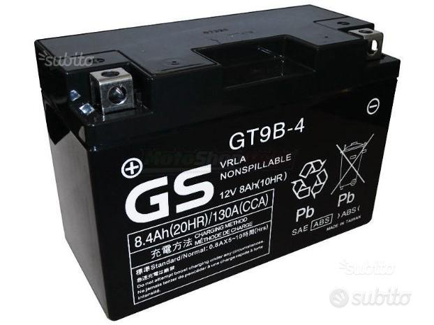 Batteria gs yuasa GT9B-4 yamaha tmax / R6