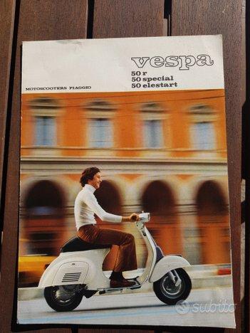 Vespa Piaggio 50 r - special-elestart depliant