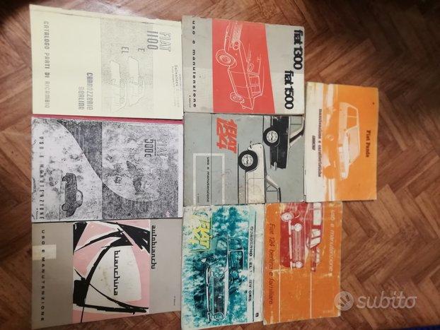 Uso e manutenzione e riviste varie Fiat