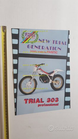 Fantic Trial 303-243-125 Professional '87 depliant