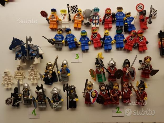 Lego personaggi minifigures