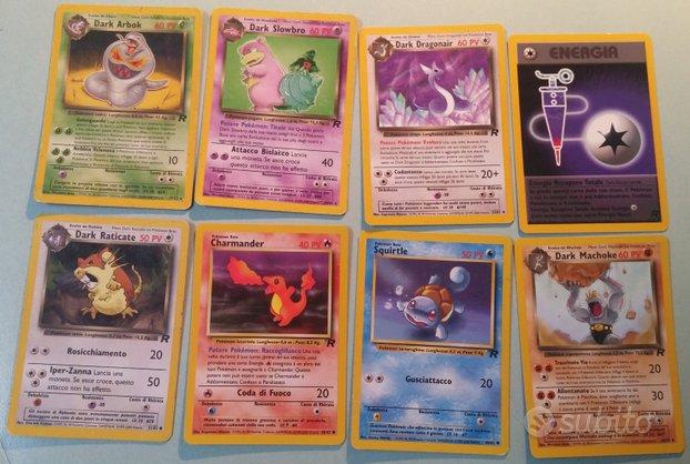 Carte Pokemon Set Team Rocket Ita 2000