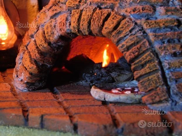 Presepe artistico artigianale Pizzeria Locanda